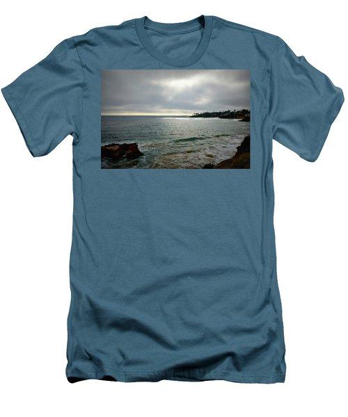 Men's T-Shirt (Slim Fit) featuring the photograph Laguna Beach Sunset by Glenn McCarthy Art and Photography