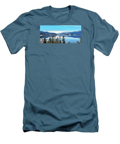 Lake Dillon Colorado Men's T-Shirt (Slim Fit) by Stephen  Johnson