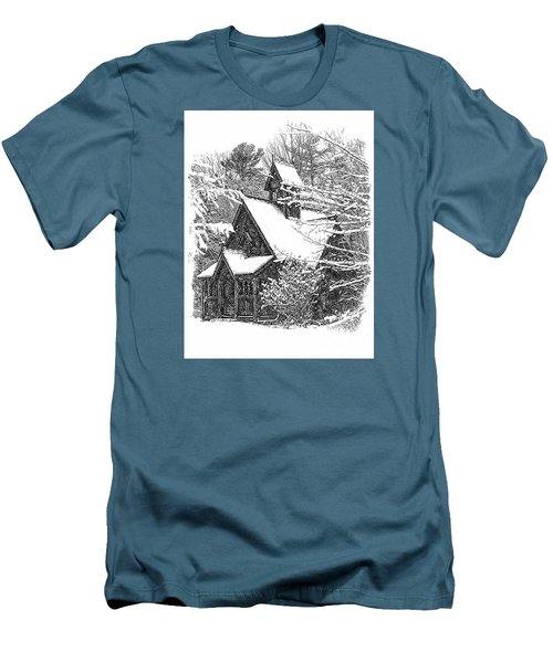 Lake Effect Snow Men's T-Shirt (Athletic Fit)