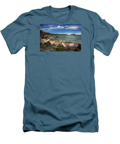 Lake Superior Men's T-Shirt (Athletic Fit)