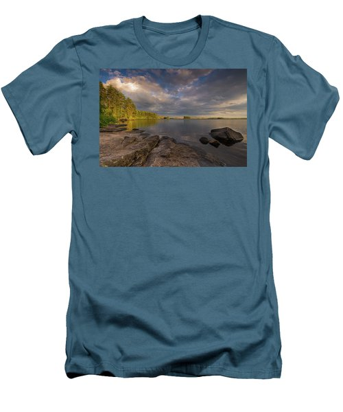 Lake Three Men's T-Shirt (Athletic Fit)
