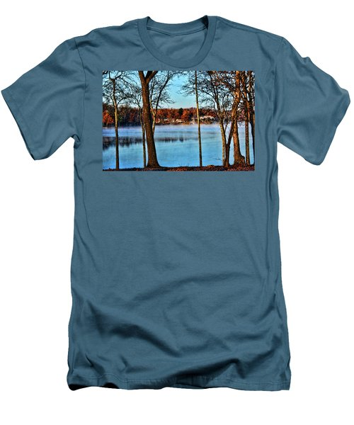 Lake Vapors Men's T-Shirt (Slim Fit) by Rick Friedle