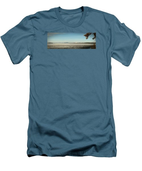 Lake Yellowstone Men's T-Shirt (Athletic Fit)