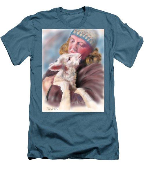 Lambie Love Men's T-Shirt (Athletic Fit)