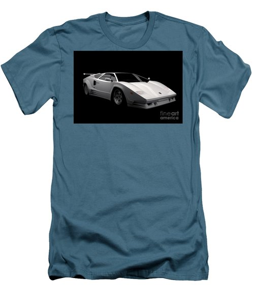 Lamborghini Countach 5000 Qv 25th Anniversary Men's T-Shirt (Athletic Fit)