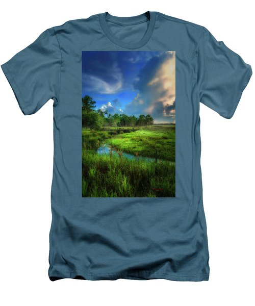 Men's T-Shirt (Slim Fit) featuring the photograph Land Of Milk And Honey by Marvin Spates