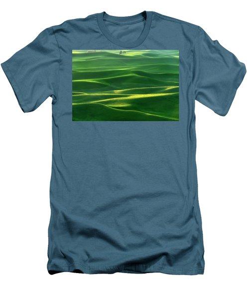 Land Waves Men's T-Shirt (Athletic Fit)