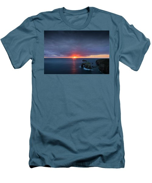 Land's End Men's T-Shirt (Slim Fit) by Dominique Dubied