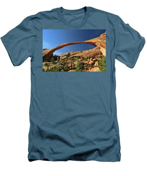 Landscape Arch Men's T-Shirt (Slim Fit) by Dana Sohr