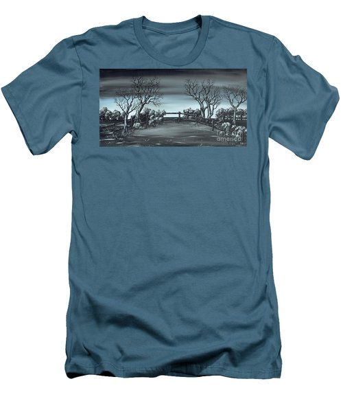 Landsend Men's T-Shirt (Slim Fit) by Kenneth Clarke