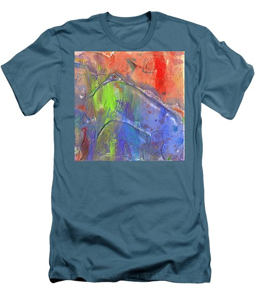 Landslide Men's T-Shirt (Slim Fit) by Phil Strang