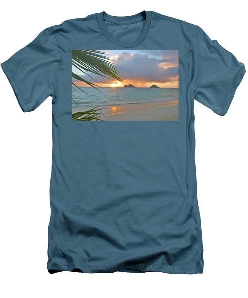 Lanikai Sunrise Men's T-Shirt (Slim Fit) by Tomas del Amo - Printscapes