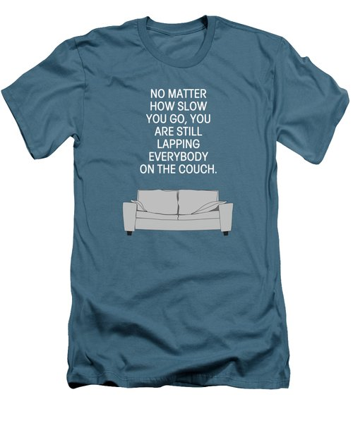 Lap The Couch Men's T-Shirt (Slim Fit) by Nancy Ingersoll
