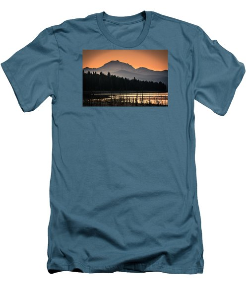 Men's T-Shirt (Slim Fit) featuring the photograph Lassen In Autumn Glory by Jan Davies