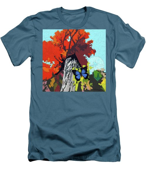 Last Butterfly Before Winter Men's T-Shirt (Athletic Fit)