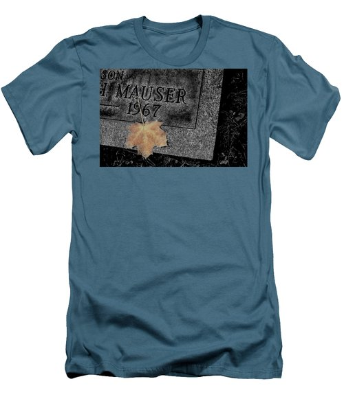 Last Piece Of Fall Men's T-Shirt (Athletic Fit)