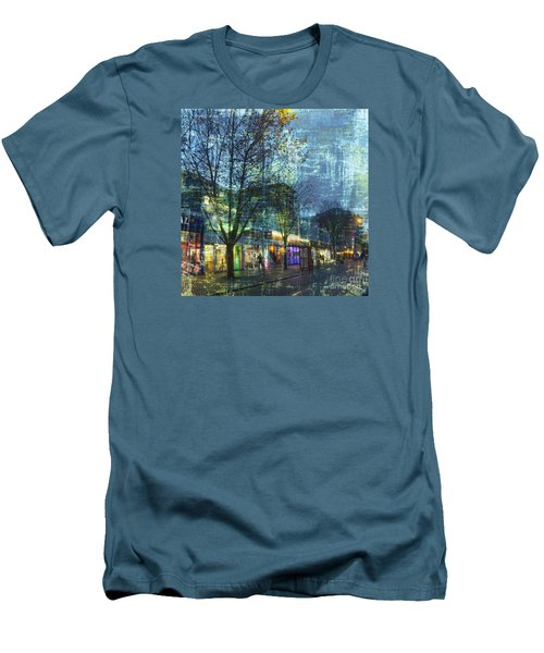 Men's T-Shirt (Athletic Fit) featuring the photograph Late Afternoon In Autumn by LemonArt Photography