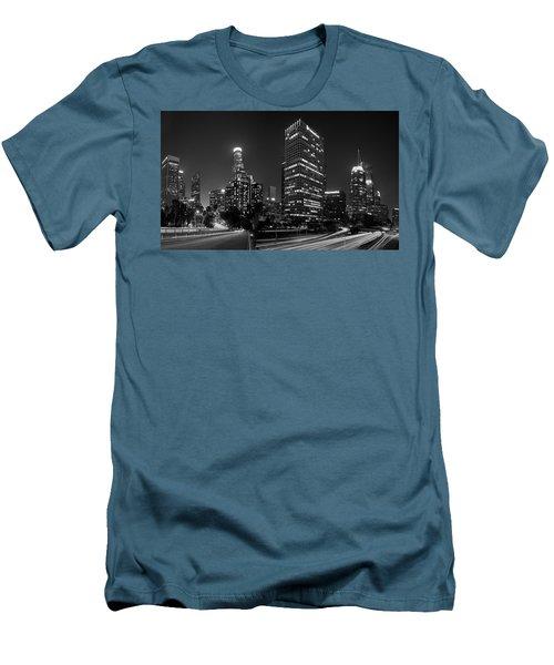 Late Night La Men's T-Shirt (Athletic Fit)