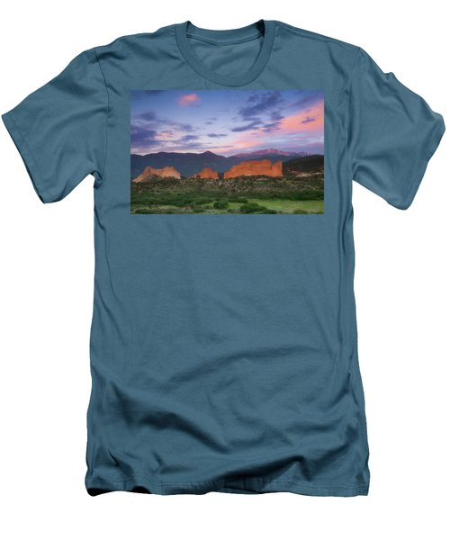 Men's T-Shirt (Slim Fit) featuring the photograph Late Spring Sunrise by Tim Reaves
