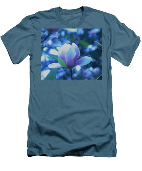 Men's T-Shirt (Slim Fit) featuring the photograph Late Summer Bloom by John Glass