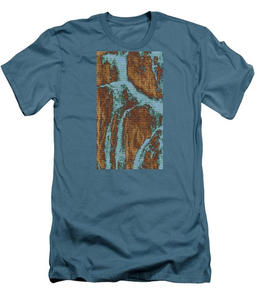 Men's T-Shirt (Slim Fit) featuring the digital art Late Summer by Robin Regan