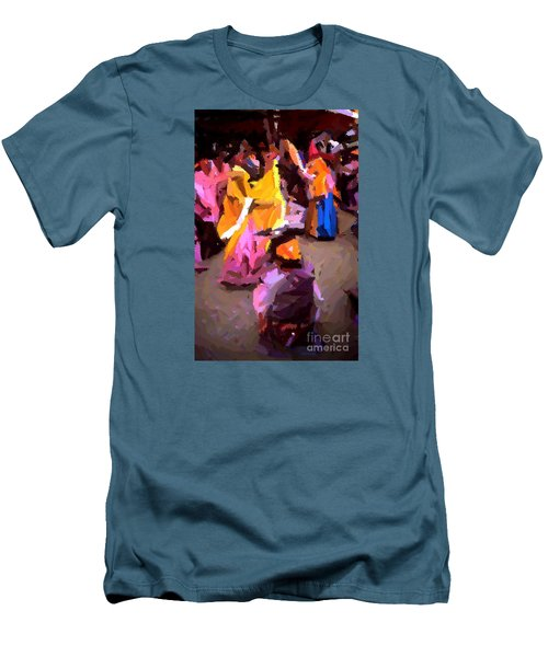 Lathmaar Holi Of Barsana-6 Men's T-Shirt (Athletic Fit)