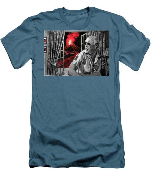 Lava Me Now Or Lava Me Not Men's T-Shirt (Slim Fit) by William Underwood