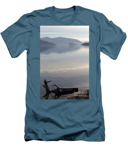 Men's T-Shirt (Slim Fit) featuring the photograph Laying Still by Victor K