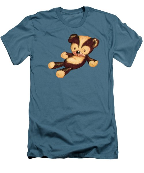 Lazy Bear Men's T-Shirt (Slim Fit) by Andy Catling