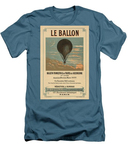 Le Balloon Journal Men's T-Shirt (Athletic Fit)