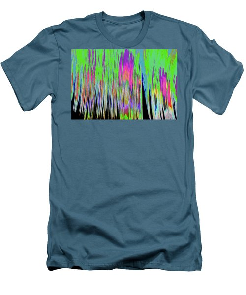 Men's T-Shirt (Slim Fit) featuring the photograph Leafless Trees by Tony Beck