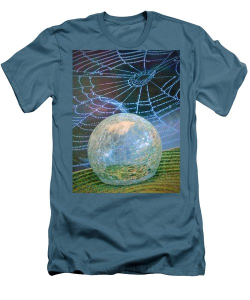 Men's T-Shirt (Slim Fit) featuring the photograph Learning by John Glass