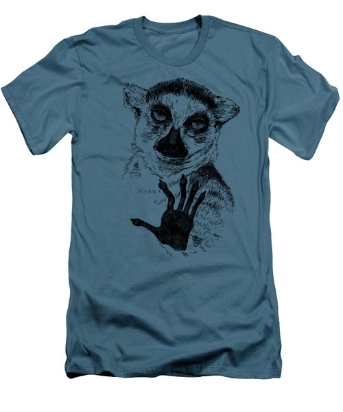Lemur Men's T-Shirt (Athletic Fit)
