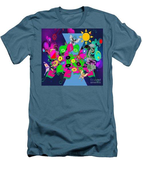 Life Full Of Experiences Men's T-Shirt (Slim Fit) by Belinda Threeths