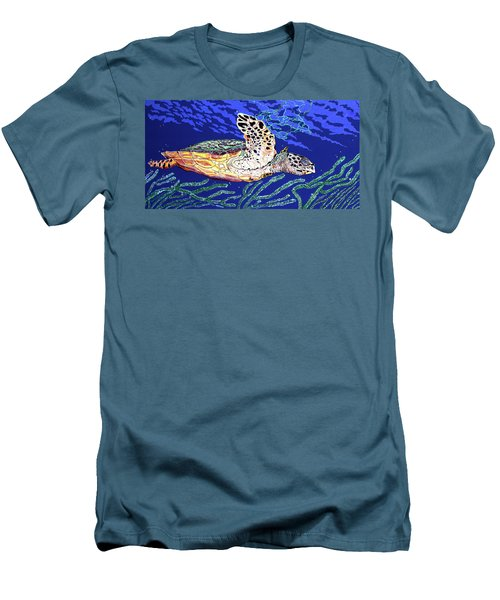 Life In The Slow Lane Men's T-Shirt (Athletic Fit)