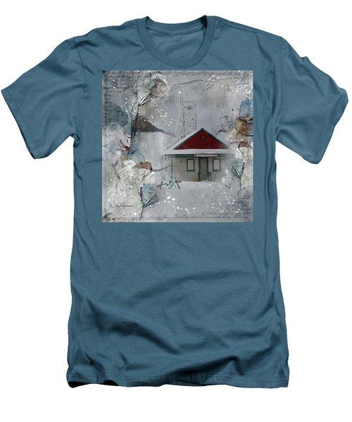 Lifeguard Station Men's T-Shirt (Athletic Fit)