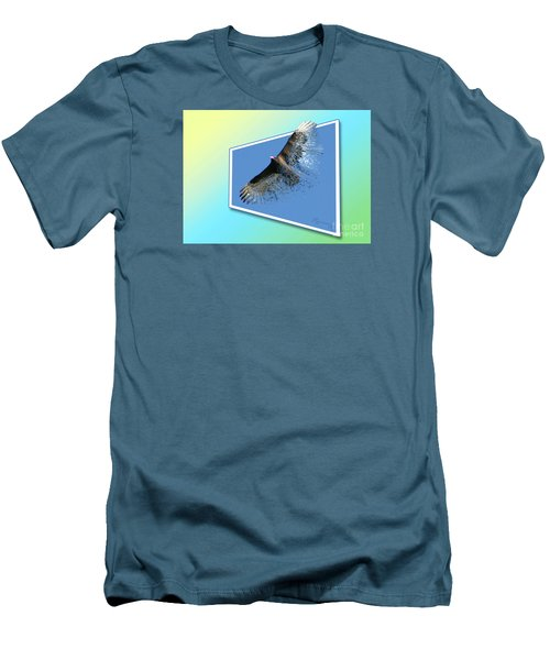 Life's Impermanence  Men's T-Shirt (Slim Fit) by Mariarosa Rockefeller