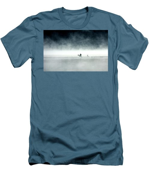Men's T-Shirt (Slim Fit) featuring the photograph Lift-off by Brian N Duram