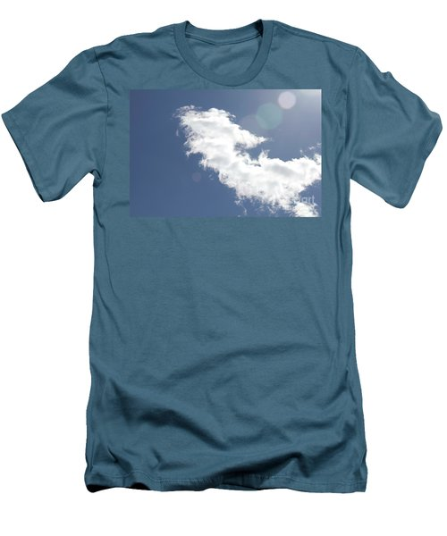 Light In Cloud Flare Men's T-Shirt (Athletic Fit)