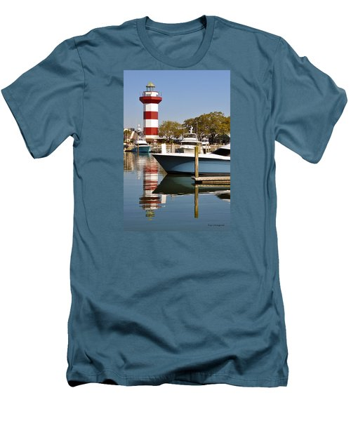 Light In The Harbor Men's T-Shirt (Athletic Fit)