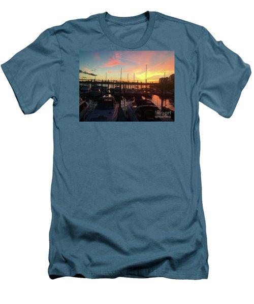 Light Show Men's T-Shirt (Athletic Fit)