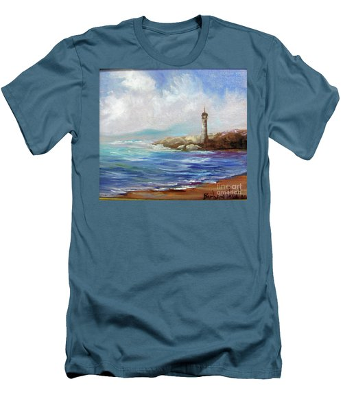 Lighthouse  Men's T-Shirt (Slim Fit)