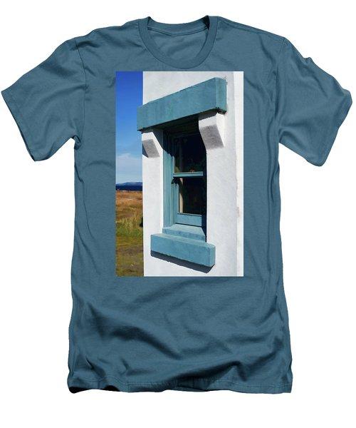 Lighthouse Window Men's T-Shirt (Athletic Fit)