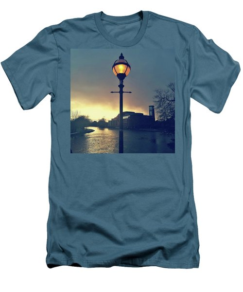 Let There Be Light. Men's T-Shirt (Athletic Fit)