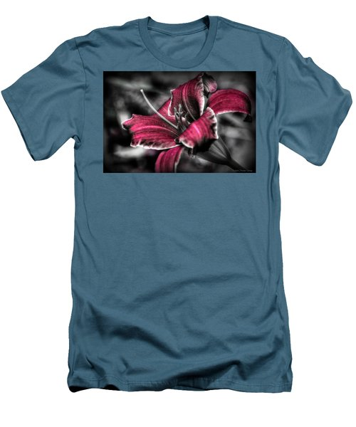 Men's T-Shirt (Slim Fit) featuring the photograph Lilly 3 by Michaela Preston