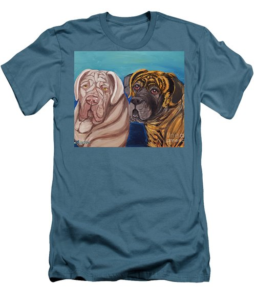 Lily Rose Maggie Moo Men's T-Shirt (Slim Fit) by Ania M Milo