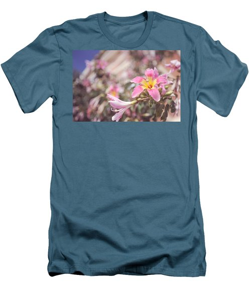 Men's T-Shirt (Athletic Fit) featuring the photograph Lily Tree. Flowers Of Malaga by Jenny Rainbow