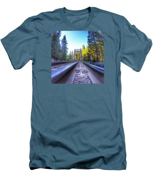 Limitless Men's T-Shirt (Slim Fit) by Alpha Wanderlust