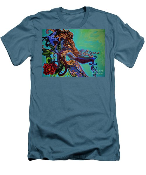 Lion Gargoyle Men's T-Shirt (Athletic Fit)