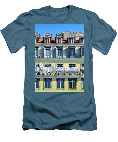 Lisbon Laundry Men's T-Shirt (Slim Fit) by Marion McCristall